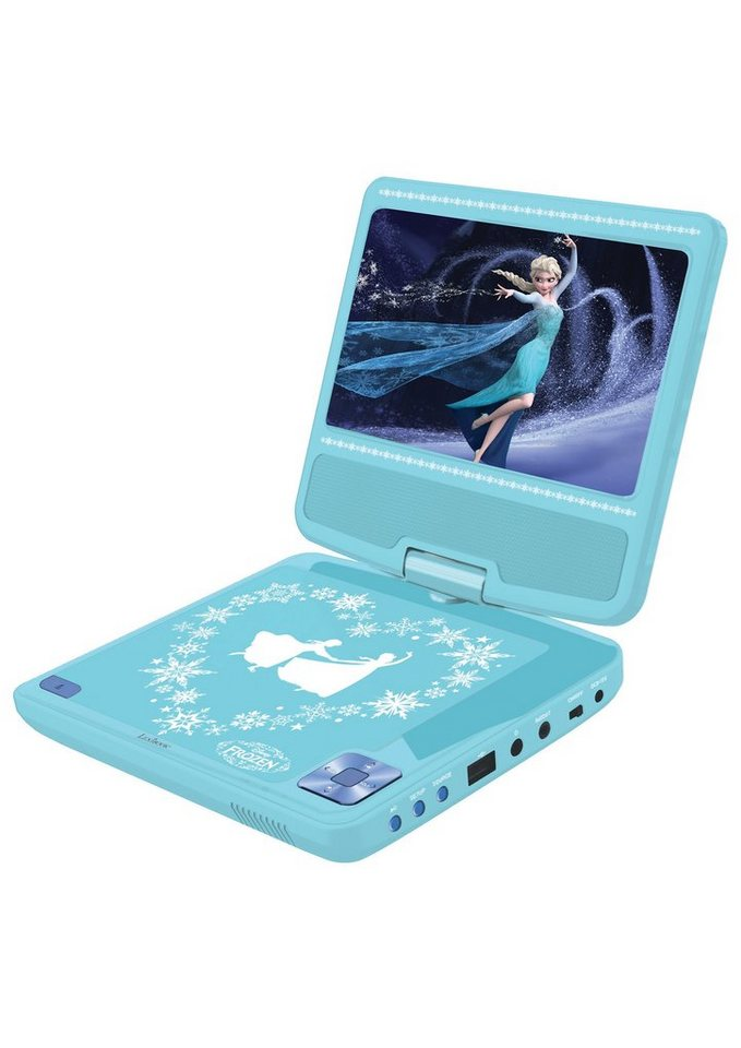 Lexibook Tragbarer DVD-Player, »Disneys Frozen - Die Eiskönigin« in blau