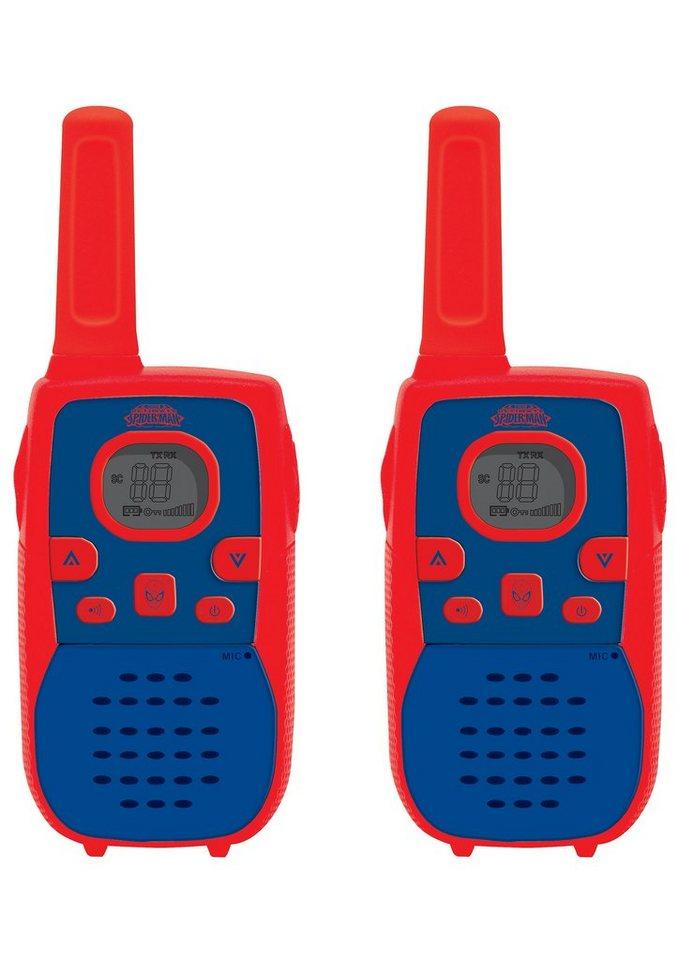 Lexibook Walkie Talkie, 2er Set, »Spider-Man« in rot/blau