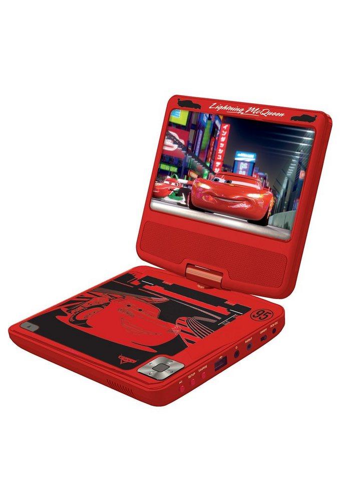 Lexibook, Tragbarer DVD-Player, »Disney Cars« in rot