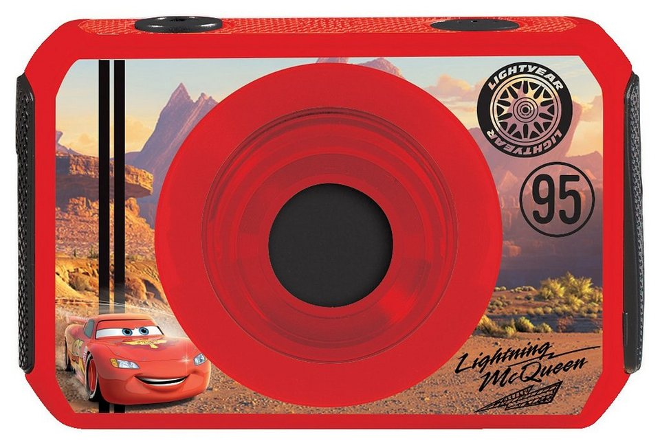 Lexibook Digitalkamera, »Move Cam Disney Cars« in rot