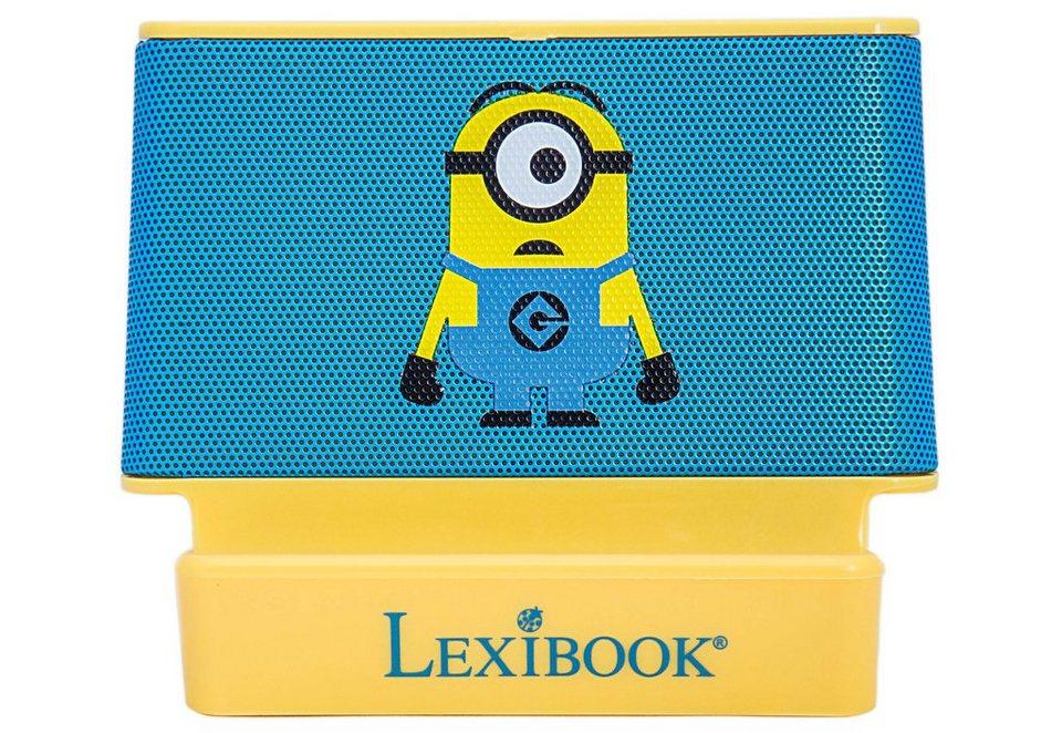 Lexibook Lautsprecher, »2x2 Watt Lautsprecher Minions« in blau/gelb
