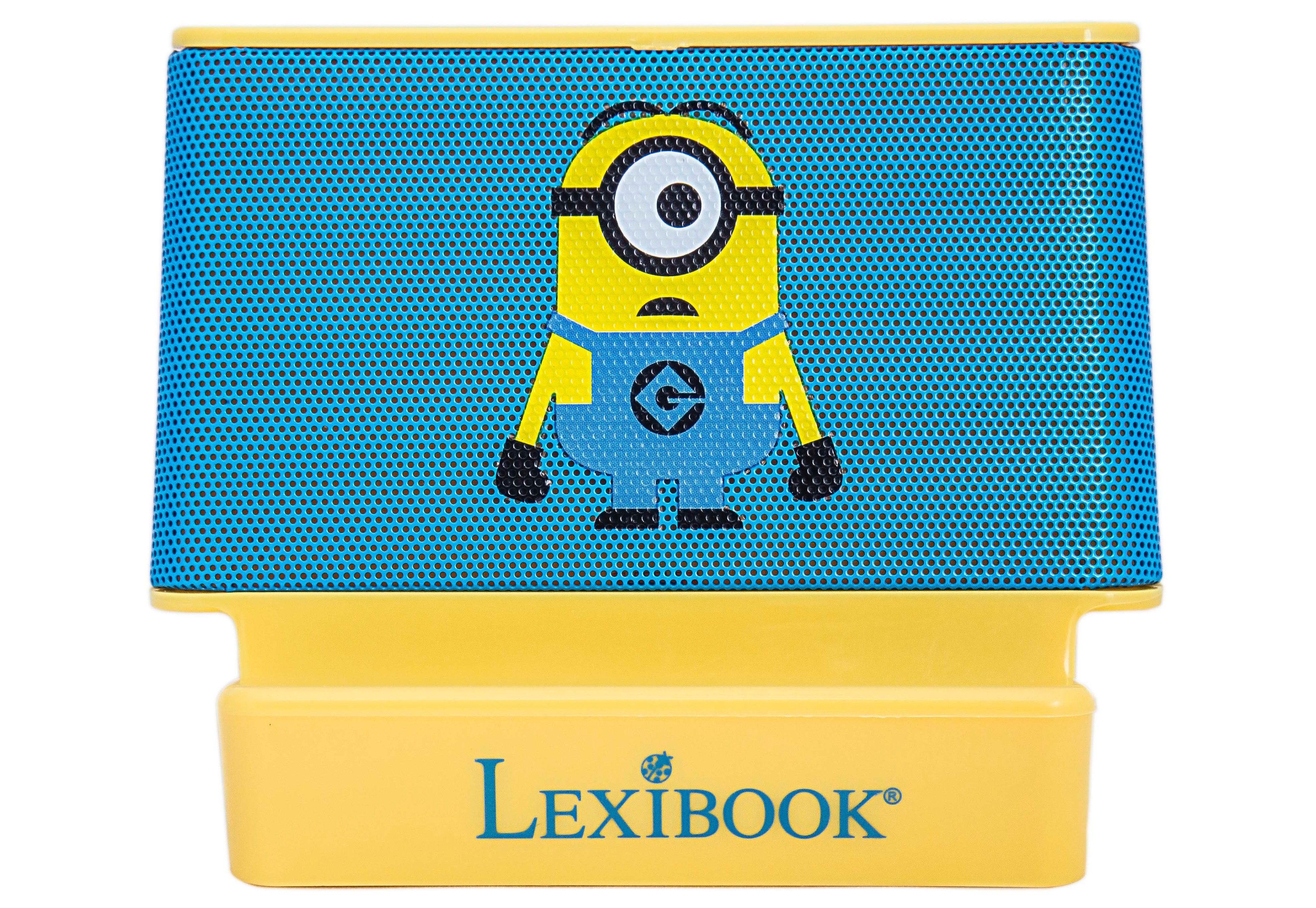 Lexibook Lautsprecher, »2x2 Watt Lautsprecher Minions«