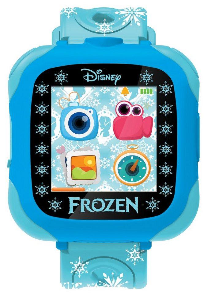 Lexibook Interaktive Armbanduhr, »Disney Frozen L-Watch - Die Eiskönigin« in blau