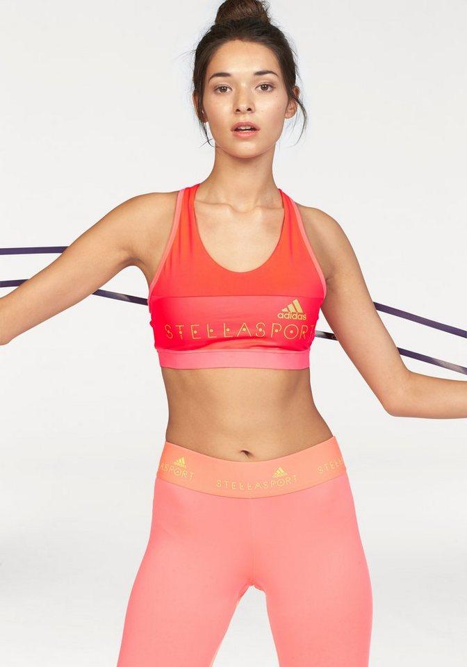 adidas Performance STELLASPORT PADDED SPORT BRA Sport-BH in Orange