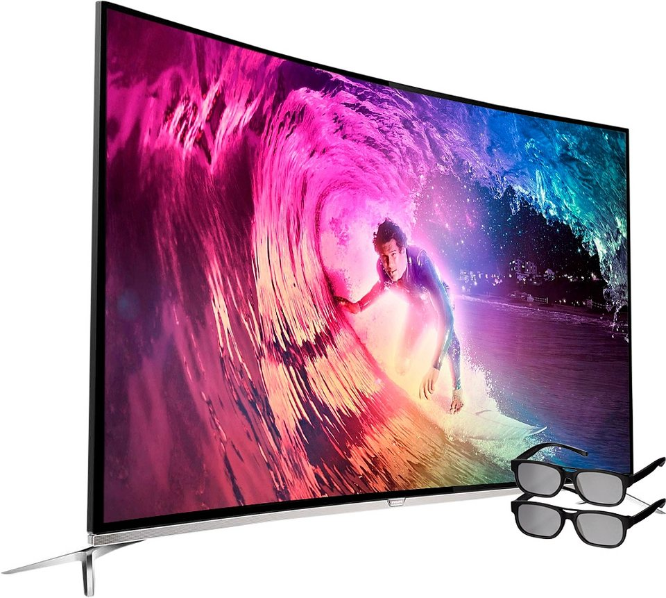 philips 65pus8700 12 curved led fernseher 164 cm 65 zoll 2160p 4k ultra hd ambilight. Black Bedroom Furniture Sets. Home Design Ideas
