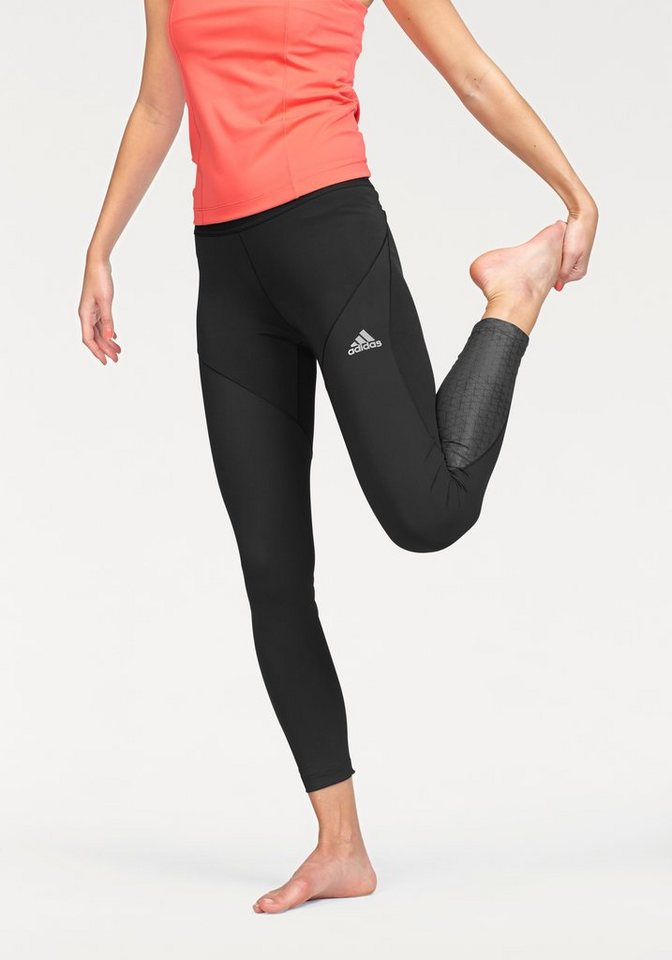 adidas Performance TECHFIT CLIMACHILL TIGHT Funktionstights in Schwarz
