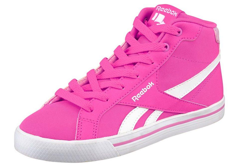 Reebok Royal Comp Mid Sneaker in Pink