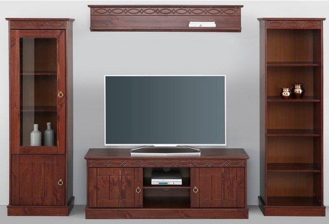 Wohnwände - Home affaire Wohnwand »Indra«, (Set, 4 tlg)  - Onlineshop OTTO