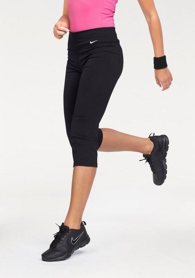 Nike LEGEND 2.0 SLIM DRY FIT COTTON CAPRI 3/4-Funktions-Tights in Schwarz