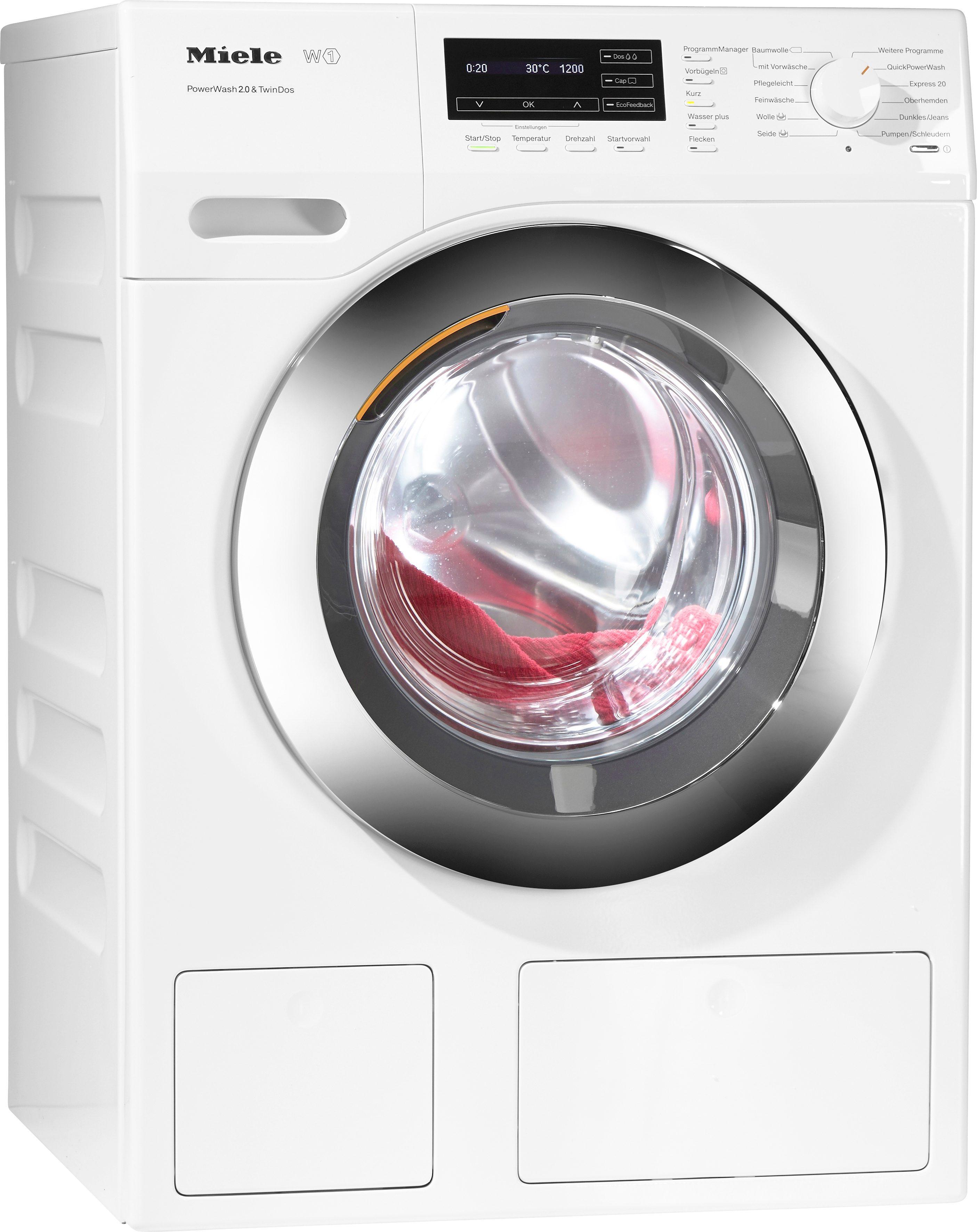Miele Waschmaschine WKH 131 WPS, 8 kg, 1600 U/Min