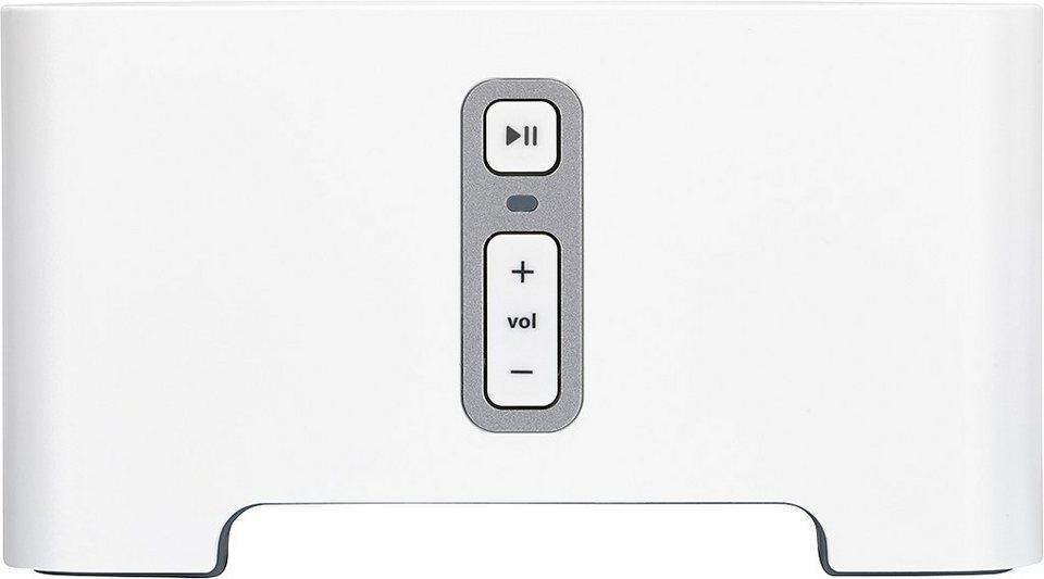 Sonos CONNECT I Verwandeln Sie Ihre Musikanlage oder Ihr Heimkino in ein Sonos Streaming System in weiß