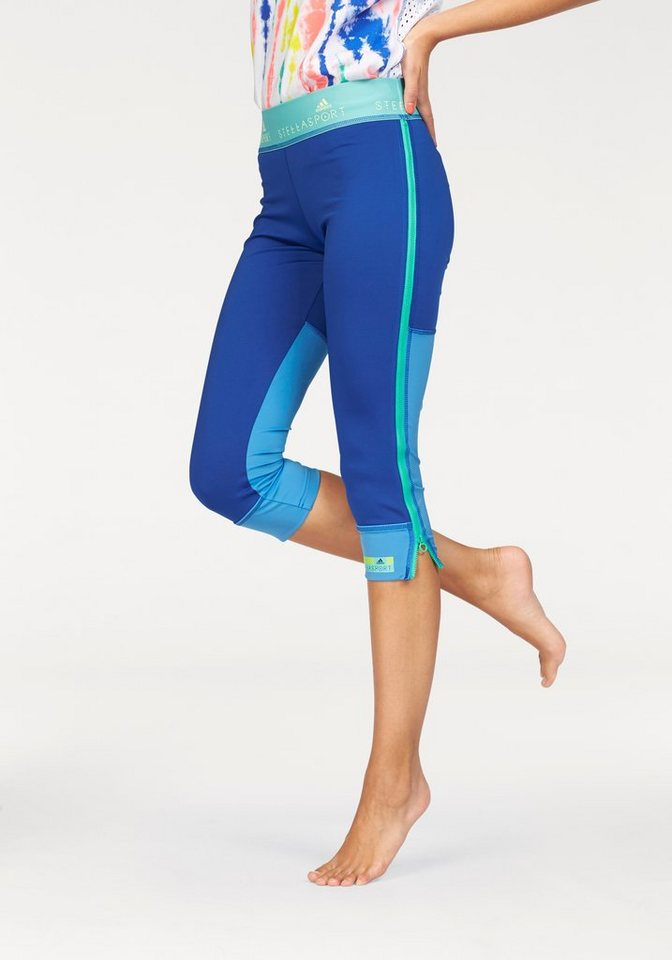 adidas Performance STELLASPORT 3/4 SPORT TIGHT 3/4-Tights in Blau
