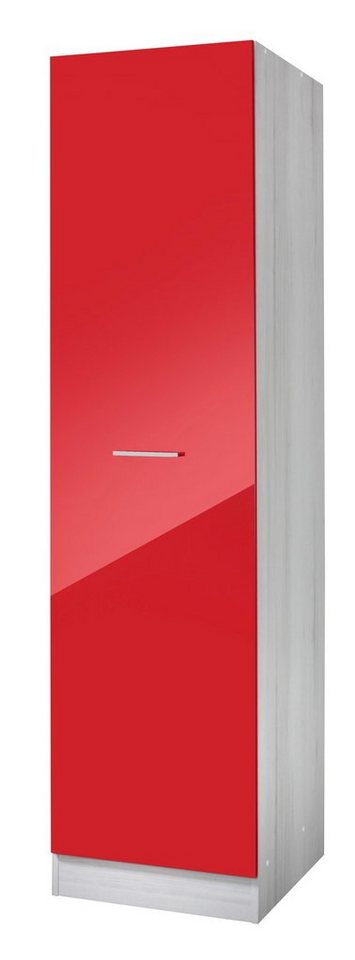 Vorratsschrank »Le Mans«, Breite 50 cm in rot
