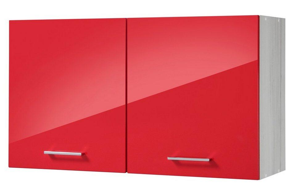 Küchenhängeschrank »Le Mans«, Breite 100 cm in rot