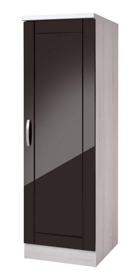 Held Möbel Vorratsschrank »Calais«, Breite 50 cm in schwarz/polareichefarben