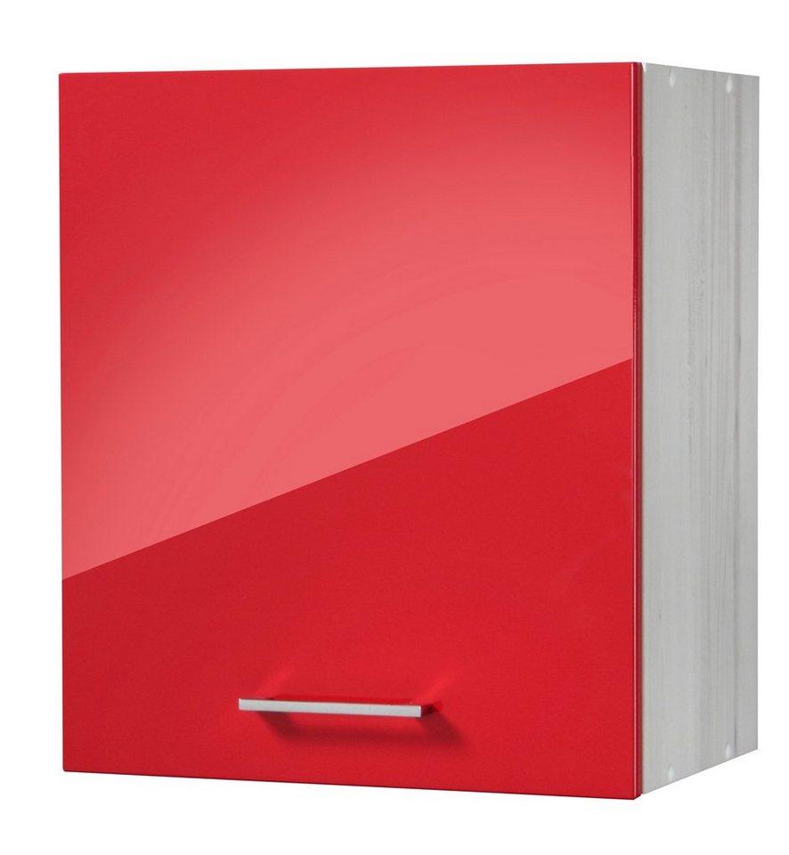 Küchenhängeschrank »Le Mans«, Breite 50 cm in rot