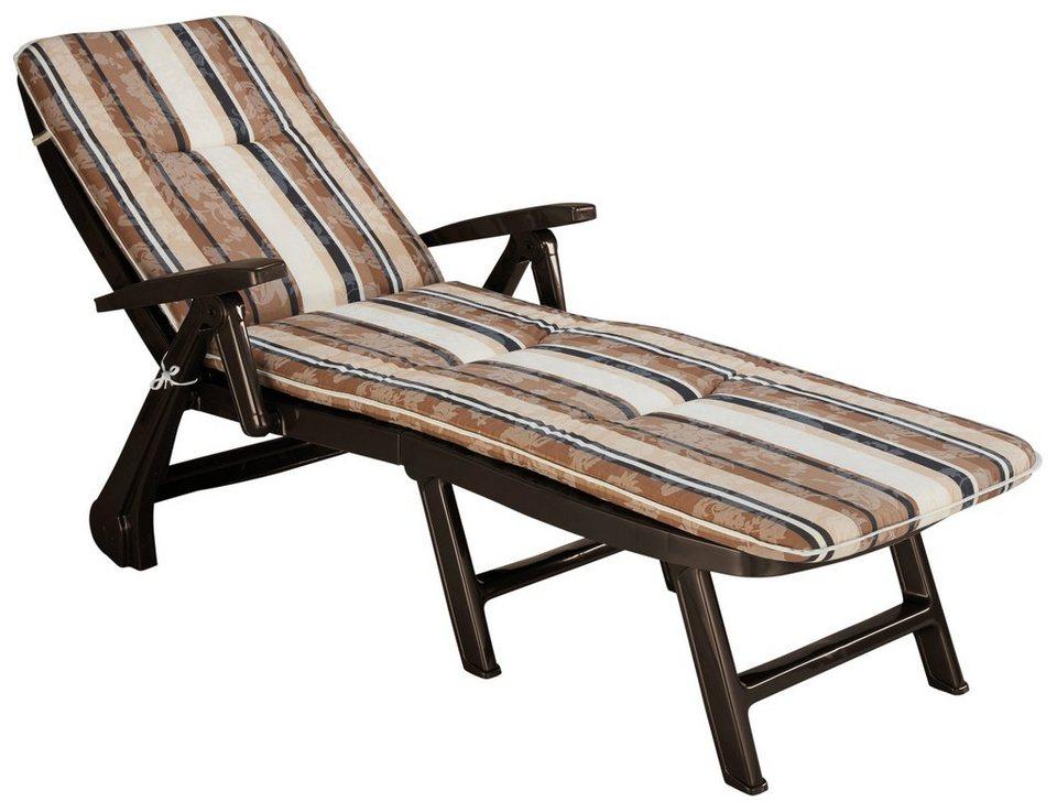 best gartenliege kopenhagen kunststoff inkl auflagen. Black Bedroom Furniture Sets. Home Design Ideas