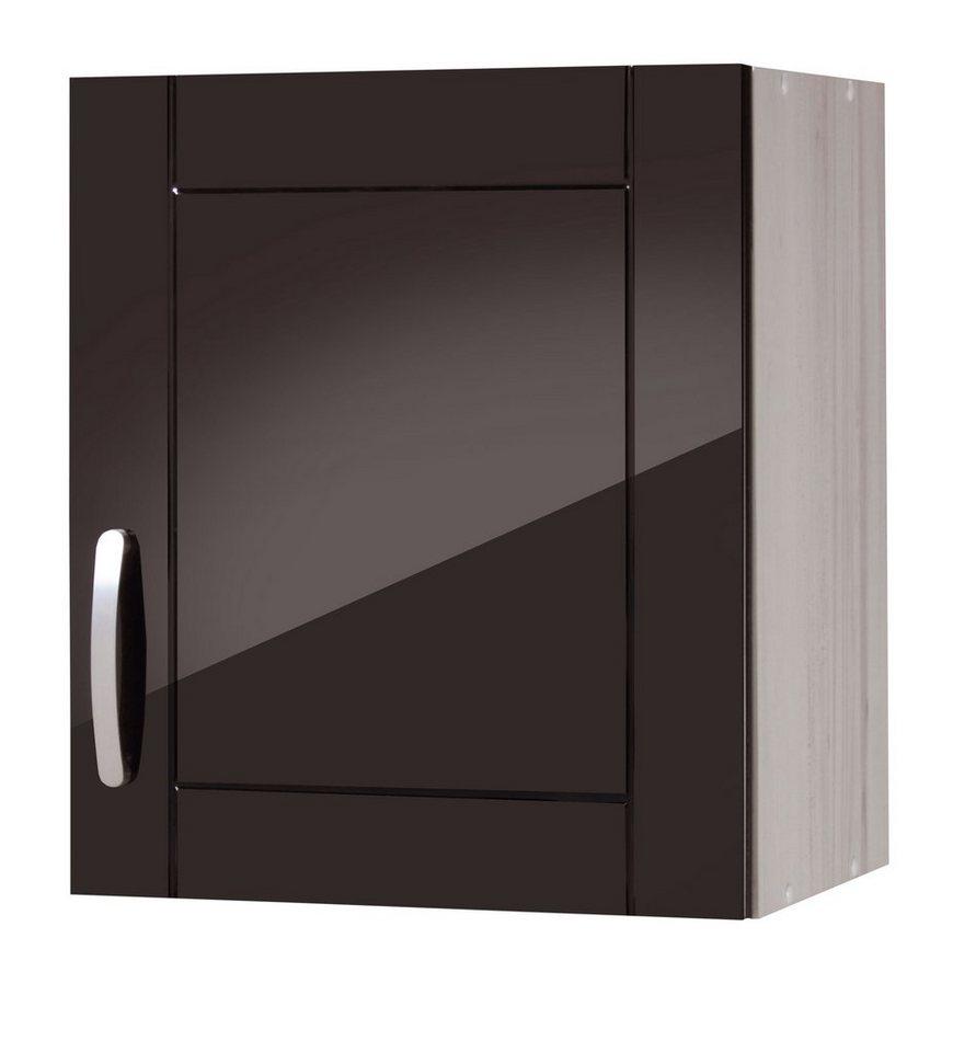 Küchenhängeschrank »Calais«, Breite 50 cm in schwarz/polareichefarben