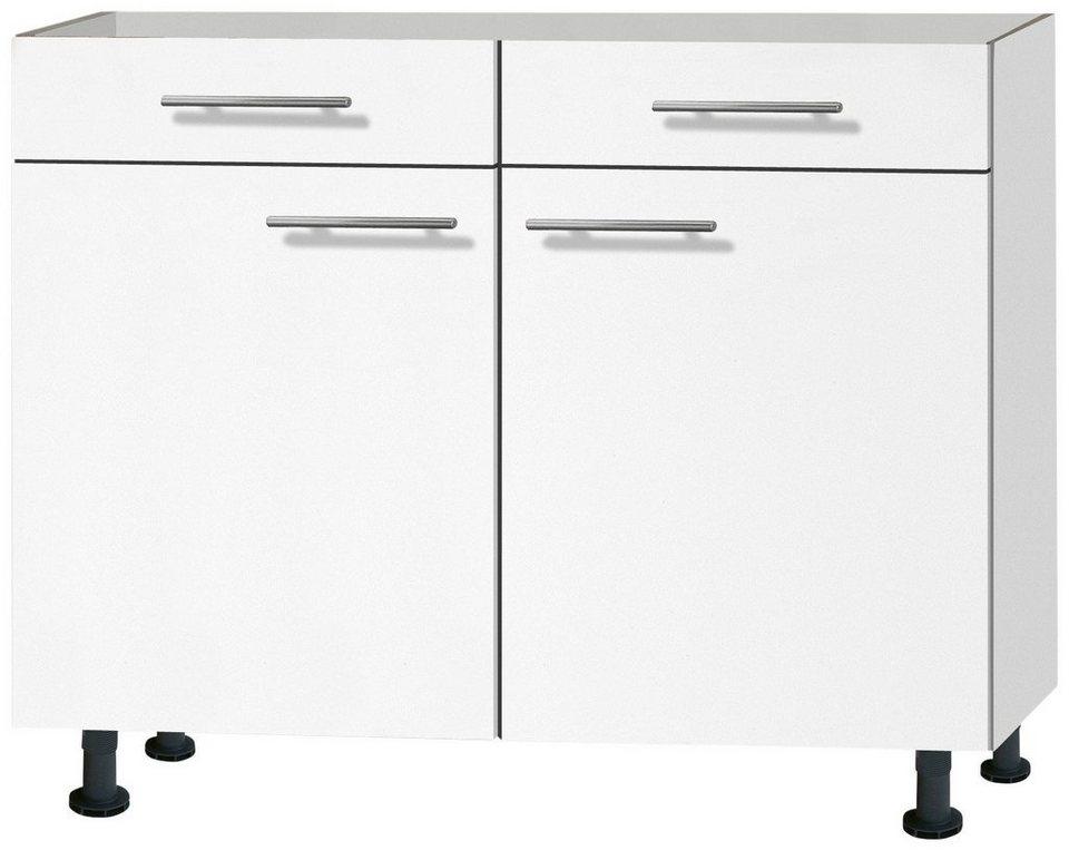 Küchenunterschrank »Michel«, Breite 100 cm in weiß