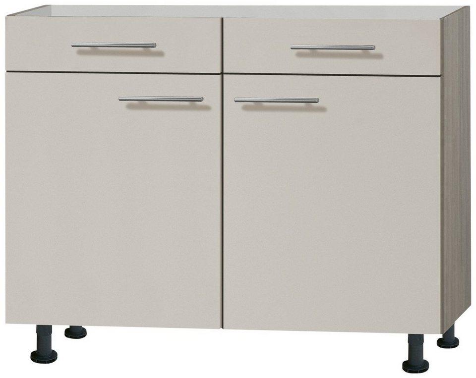 Küchenunterschrank »Finn«, Breite 100 cm in sandfarben