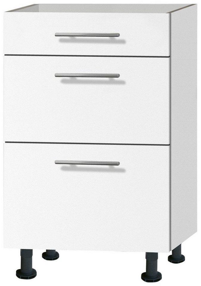 Küchenunterschrank »Michel«, Breite 50 cm in weiß