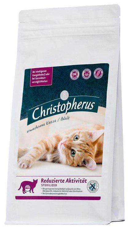 Set: Katzentrockenfutter »Reduzierte Aktivität Sterilized«, 2 Beutel á 1 kg in braun