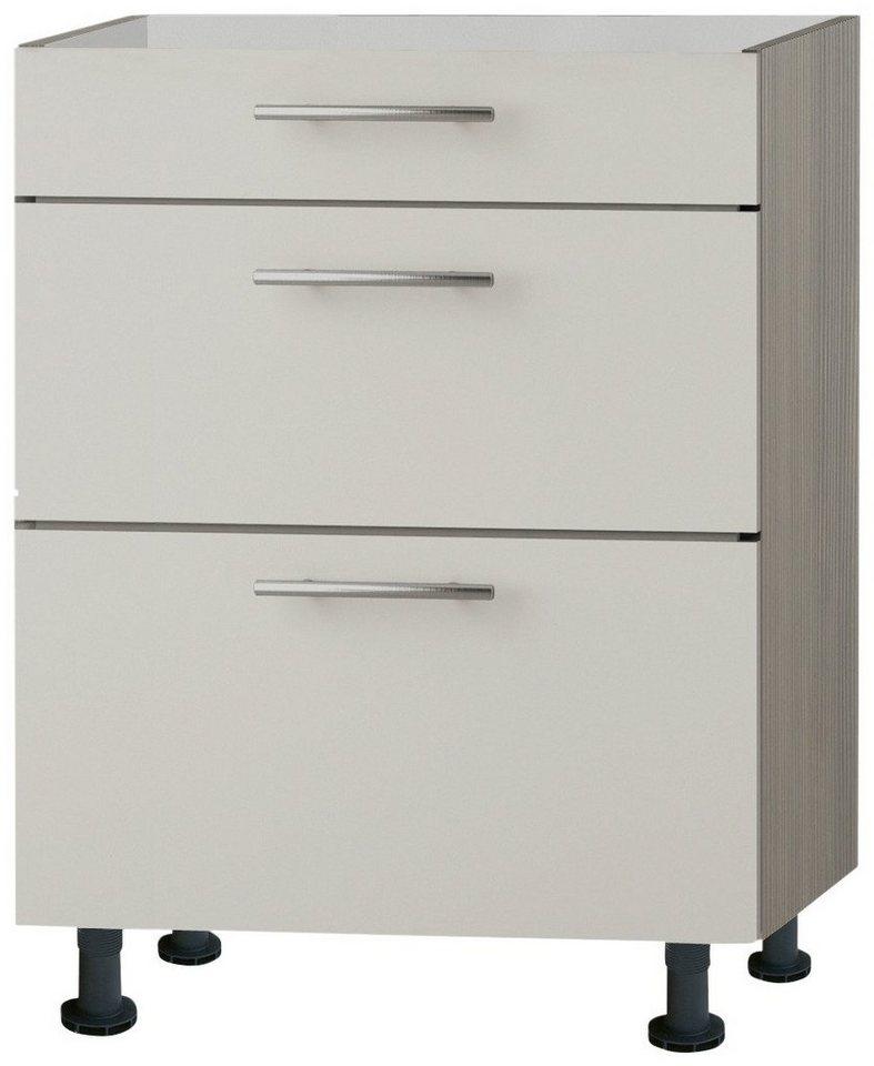 Optifit Küchenunterschrank »Finn«, Breite 60 cm in sandfarben