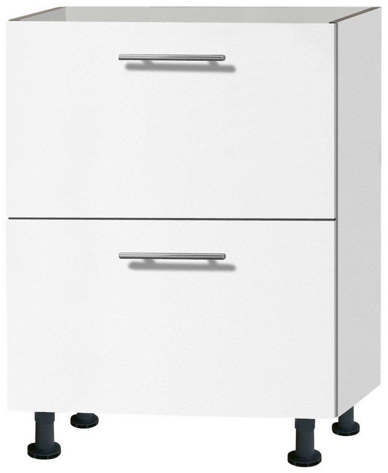 Küchenunterschrank »Michel«, Breite 60 cm in weiß