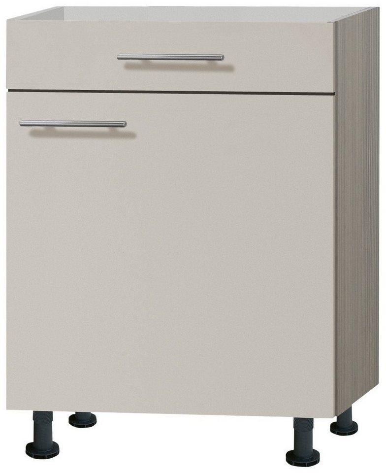 Küchenunterschrank »Finn«, Breite 60 cm in sandfarben