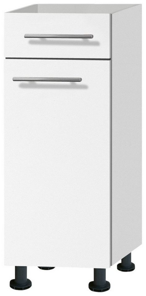 Küchenunterschrank »Michel«, Breite 30 cm in weiß
