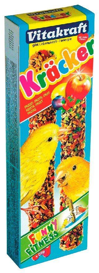 Vogelfutter »Vitakraft Kräcker 10 x 2 Stück « in braun
