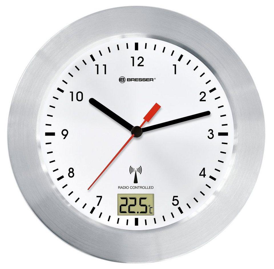 Bresser Uhr »BRESSER MyTime Bath weiß Funk-Baduhr«