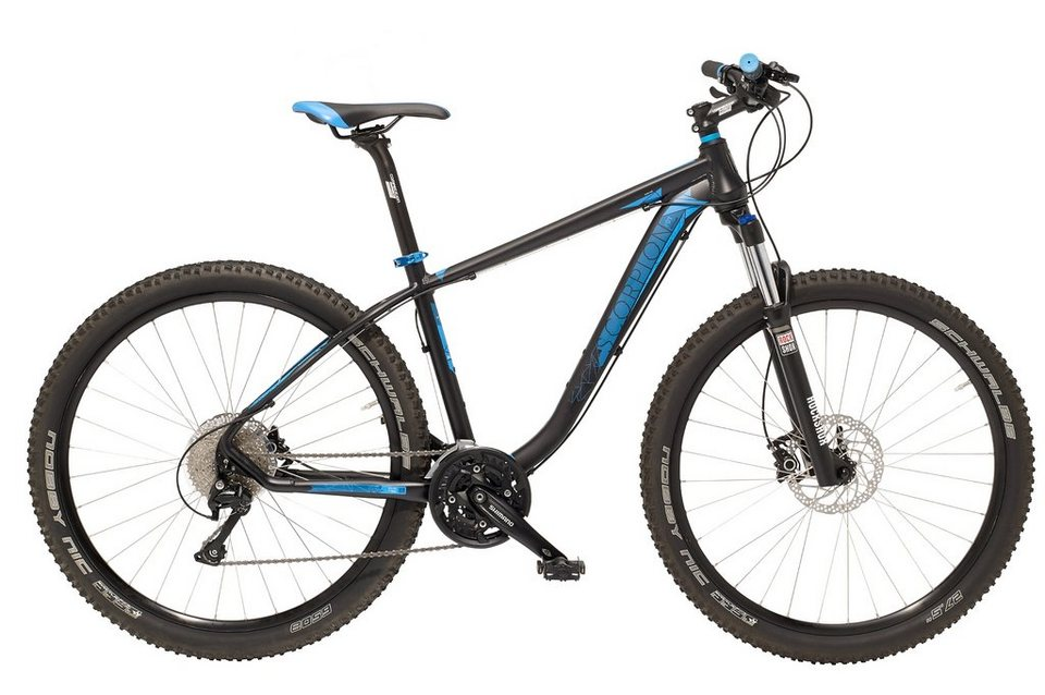 Kettler Hardtail Alu MTB, 27,5 Zoll, 30 Gang ShimanoDeore, »Scorpion V01« in graphit-blau