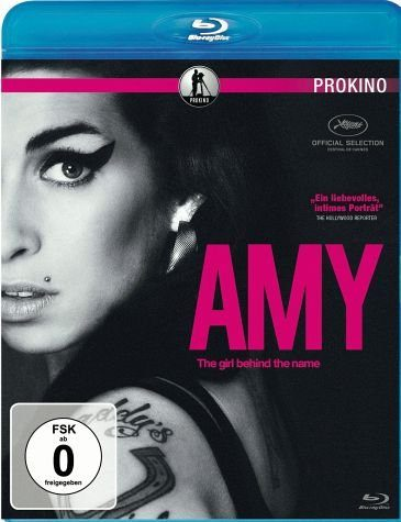 Blu-ray »Amy - The Girl behind the Name (OmU)«