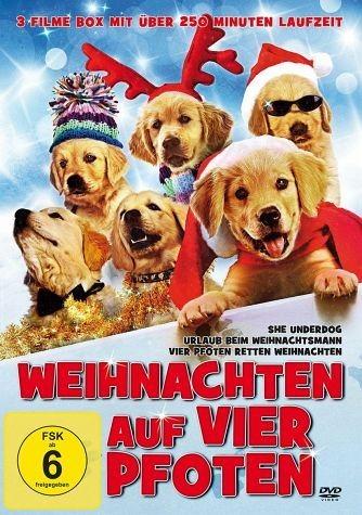 DVD »Weihnachten auf vier Pfoten (Inkl....«