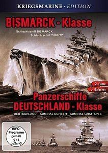 DVD »Bismarck-Klasse & Panzerschiffe«