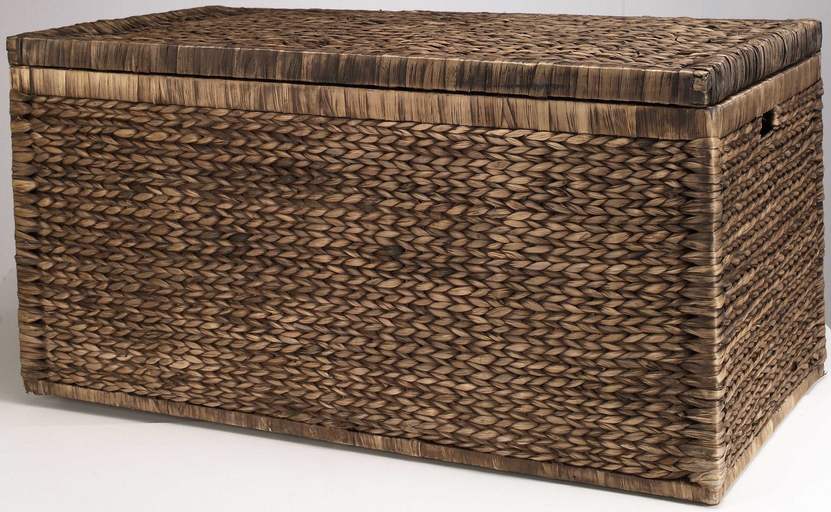 Home affaire Truhe Innen mit Baumwolle bespannt | Wohnzimmer > Truhen | Stoff | Home affaire
