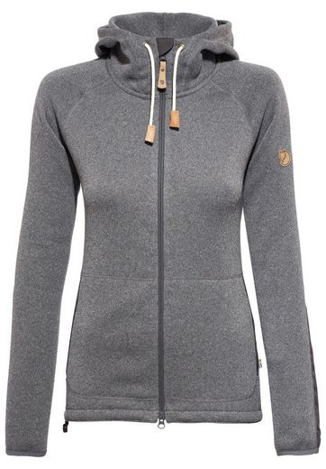 FJÄLLRÄVEN Outdoorjacke Övik Fleece Hoodie Women