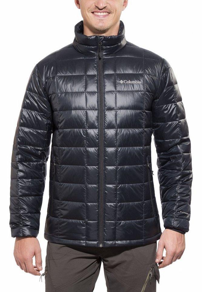 Columbia Outdoorjacke »Trask Mountain 650 TurboDown Jacket Men« in schwarz