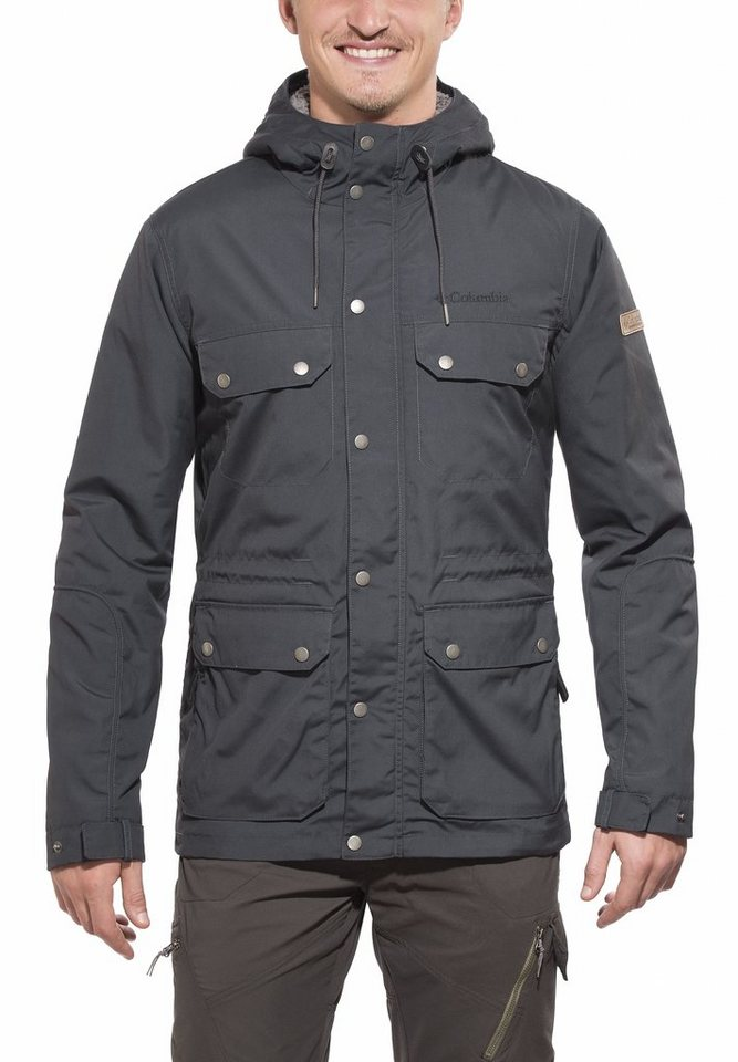Columbia Outdoorjacke »Maguire Place Jacket Men« in grau