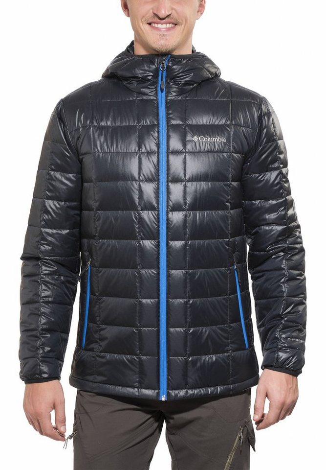 Columbia Outdoorjacke »Trask Mountain 650 TurboDown Hooded Jacket Men« in schwarz