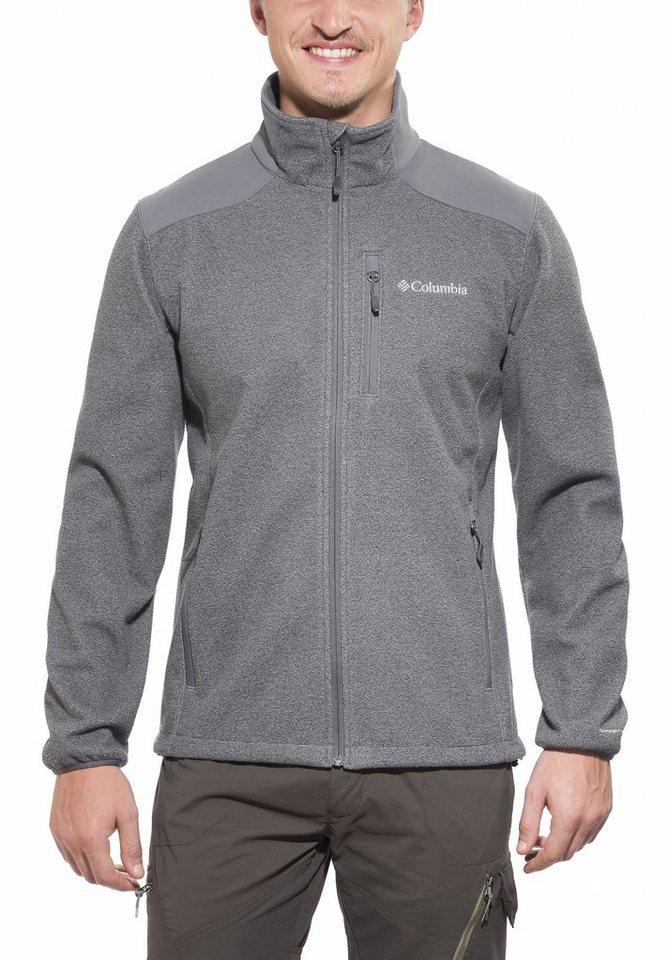 Columbia Outdoorjacke »Wind Protector Novelty Jacket Men« in grau