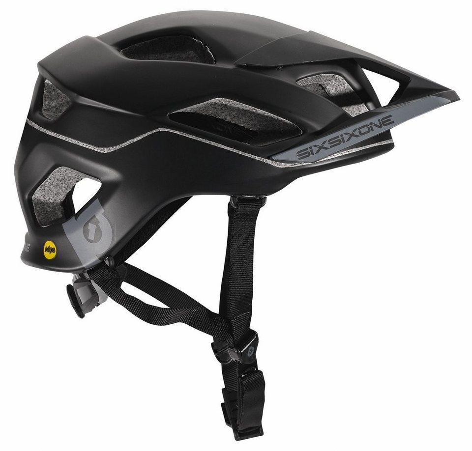 SixSixOne Fahrradhelm »Evo AM MIPS Helmet« in schwarz
