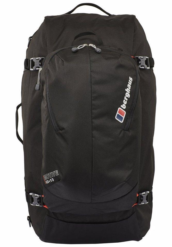Berghaus Sport- und Freizeittasche »Motive 60+10 Backpack« in schwarz