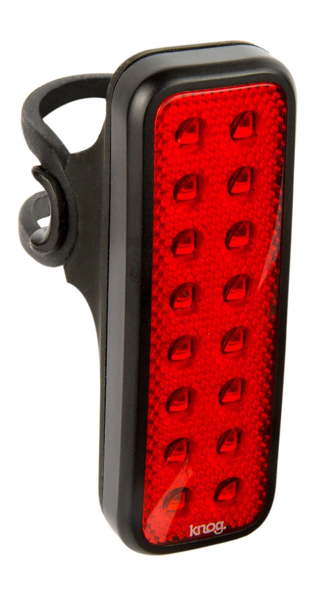 Knog Fahrradbeleuchtung »Blinder MOB V Kid Grid Rücklicht rote LED«