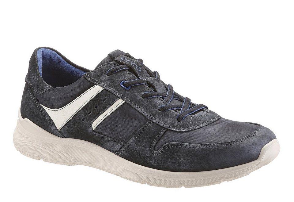Ecco Sneaker mit herausnehmbarer Sohle in schwarz used