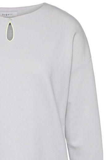 bugatti Sweatkleid mit seitlichen Taschen