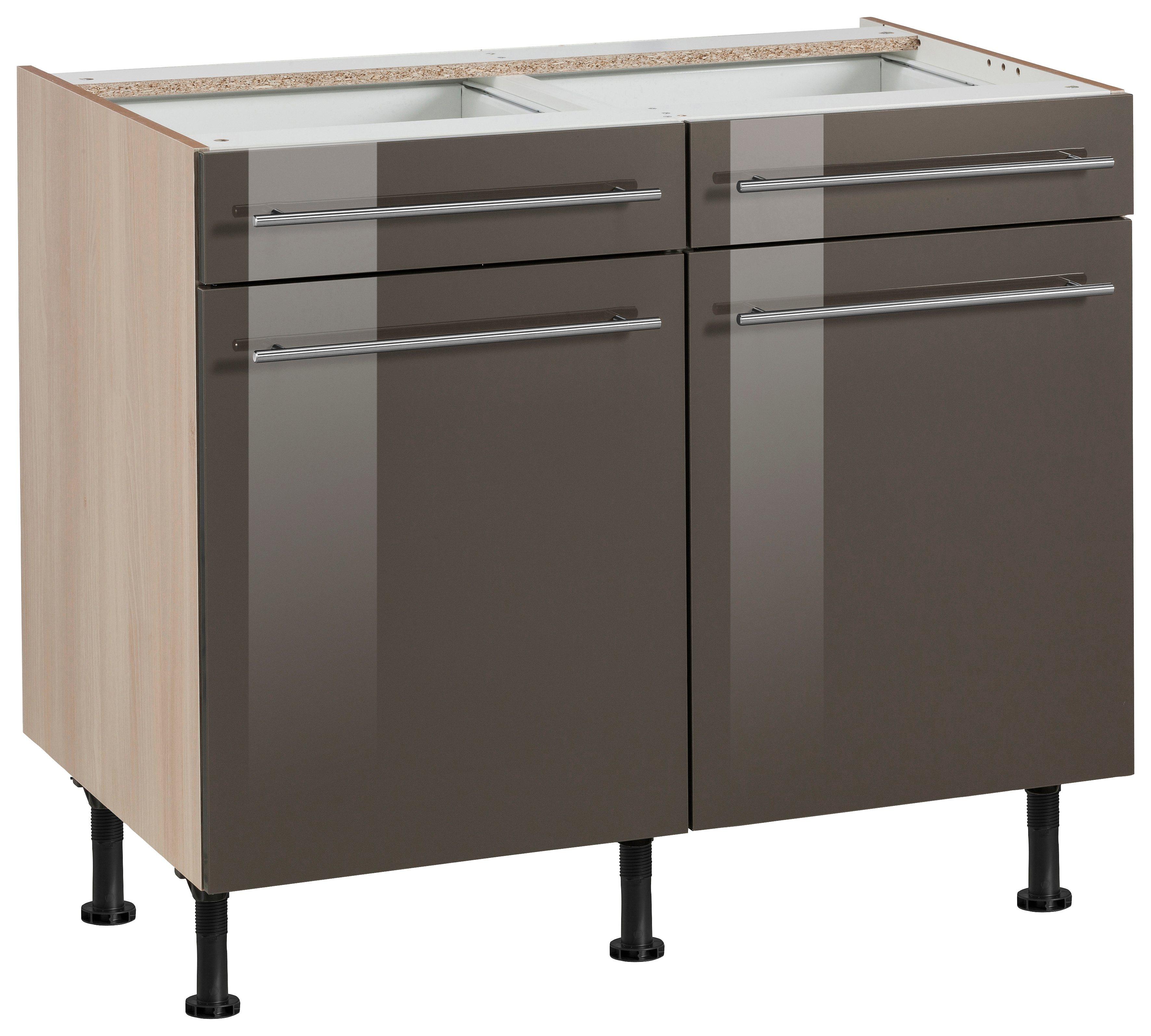 hochglanz-lack Küchen-Unterschränke online kaufen | Möbel ...