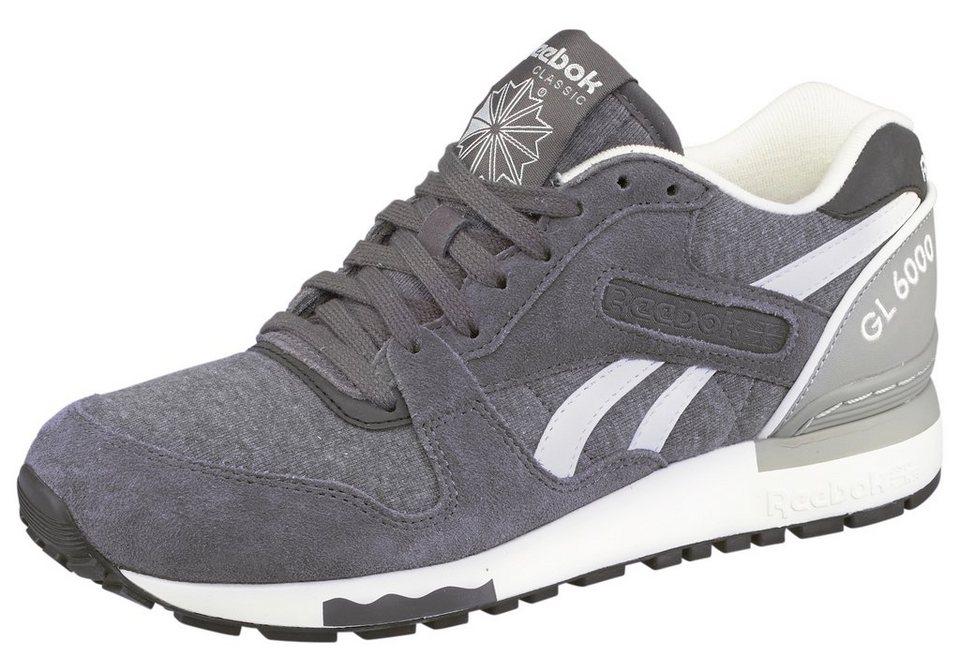 Reebok GL 6000 Jersey Sneaker in Grau-Weiß