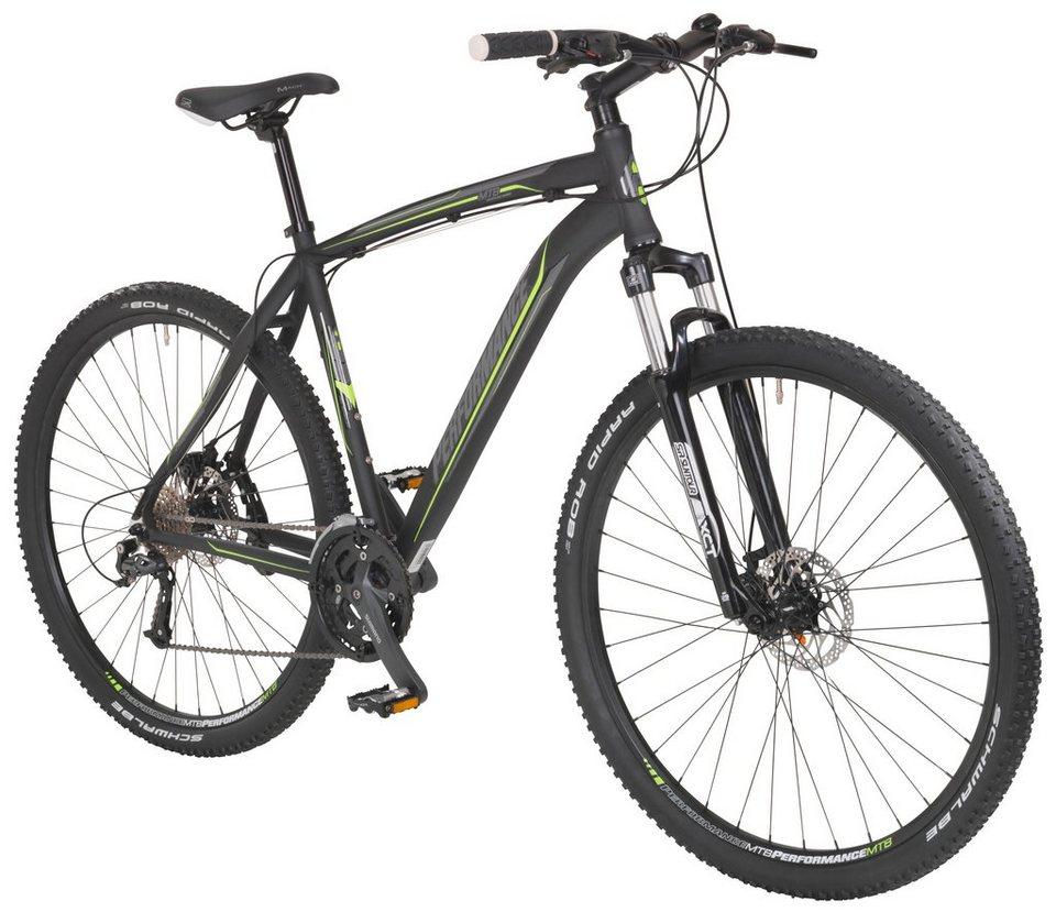 Mountainbike »Twentyniner, 29 Zoll«, SHIMANO Acera 24 Gang, Scheibenbremsen in schwarz